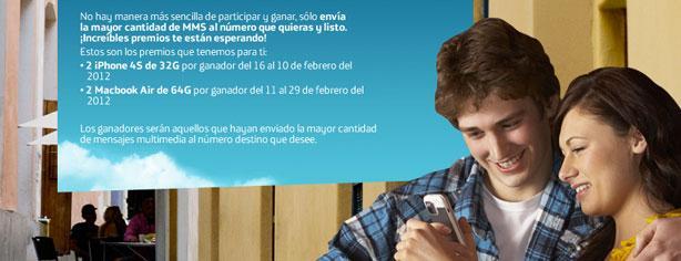 Promoción Movistar – Gana mensajeando y llévate 2 iPhone o 2 Macbook
