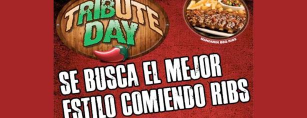 Tribute Day Chili's – Se busca el mejor estilo comiendo ribs