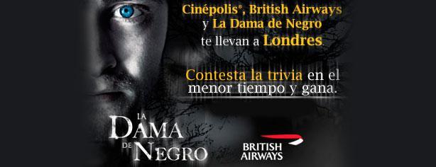 Cinépolis, British Airways y La Dama de Negro te llevan a Londres