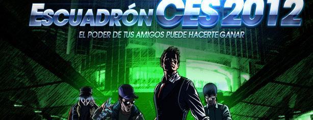 Concurso Sony – Escuadrón CES 2012