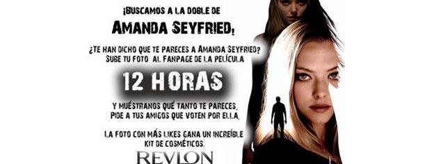 Se busca a la doble de Amanda Seyfried, gana kit Revlon