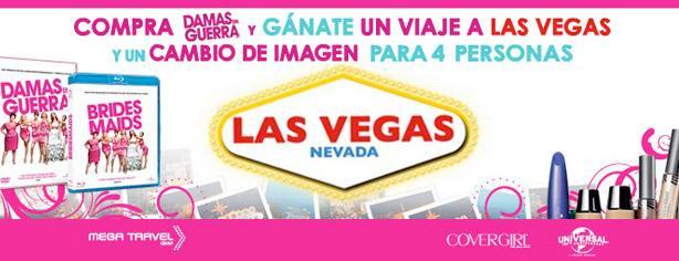 """Gana un viaje a Las Vegas y cambio de imagen con la película """"Damas en Guerra"""""""