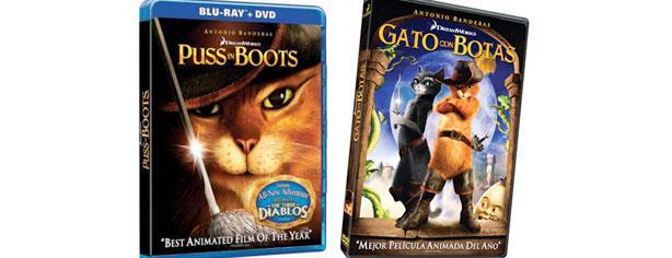 Gana el DVD o Blu-Ray del Gato con Botas con Cinepremiere