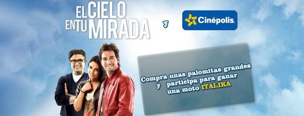 El Cielo en tu Mirada y Cinépolis te regalan una moto Italika