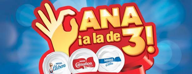 Gana a la de 3 estufas, refrigeradores y hornos de microondas con productos Nestlé