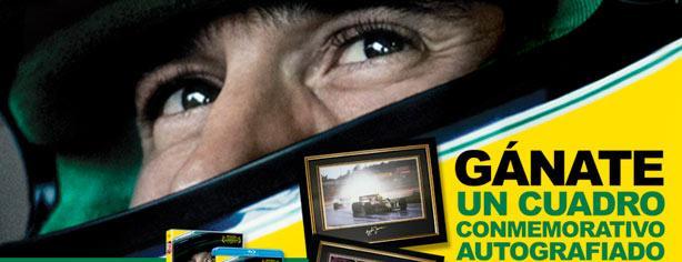 """Compra la película """"Senna"""" en DVD o Blu-Ray y gana un cuadro autografiado"""