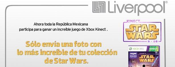 Gana un juego de Kinect Star Wars para Xbox con Liverpool