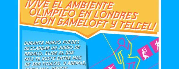 Vive el ambiente olímpico en Londres con Gameloft y Telcel