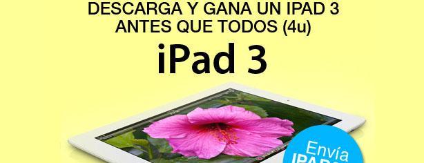 Se el primero en ganar el nuevo iPad con Ideas Telcel y Juegos 4U