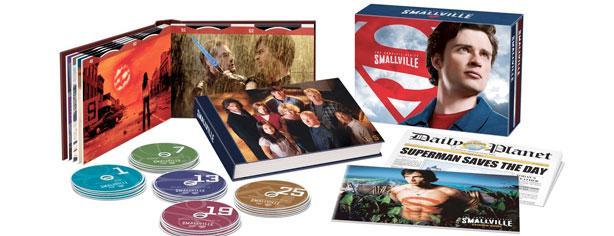 Gana la colección completa de Smallville con Cinepremiere