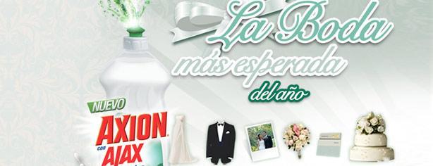 La boda más esperada: gana con Axion y Ajax
