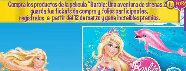 Sumergete en el mundo de sirenas con Barbie