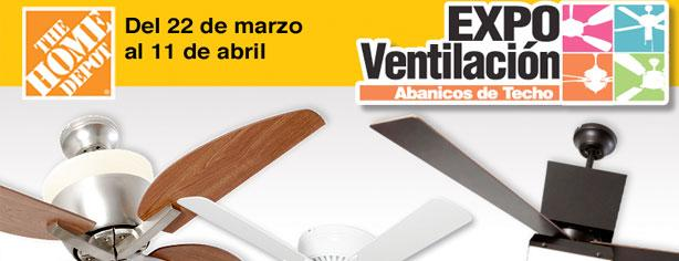 Expo ventilaci n en the home depot for Home depot sucursales