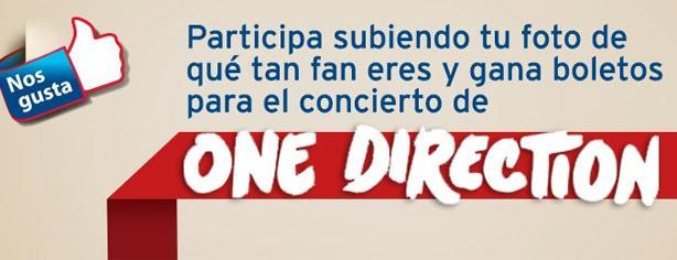 Banamex te invita al concierto de One Direction