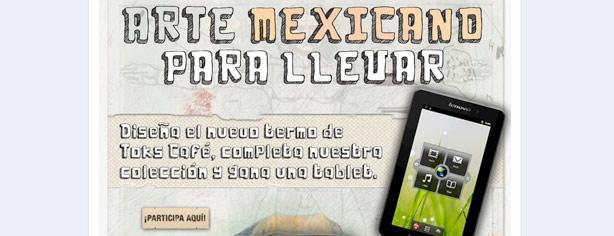 Concurso Arte Mexicano para Llevar: diseña el termo de Toks y gana tablet