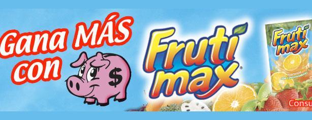 Gana más con Frutimax y Promoweb