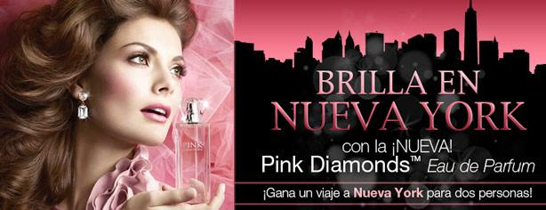 Viaja a Nueva York con Pink Diamonds de Mary Kay