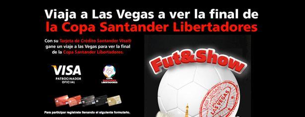 Santander te lleva a Las Vegas a ver la gran final de la Copa Libertadores