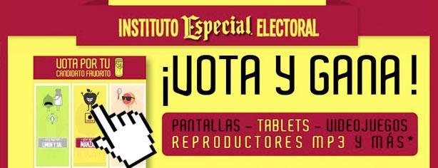 ¡Vota y Gana! con José Cuervo Especial: gana pantallas, tablets y videojuegos