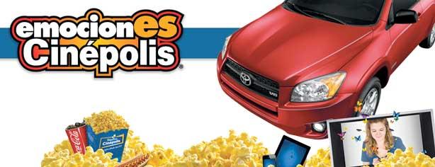 EmocionES Cinépolis 2012: Gana una Toyota RAV4, pantallas, ipads y más