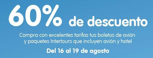 Outlet Interjet: hasta 60% de descuento en vuelos