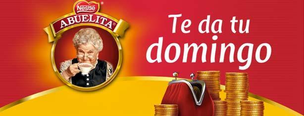 Promoción Chocolate Abuelita te da tu domingo, registra tu código y gana $20,000 pesos