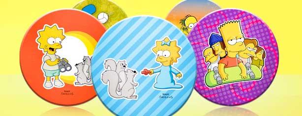 Promoción Sabritas y Gamesa Tazos Los Simpsons, registra tu código y gana premios