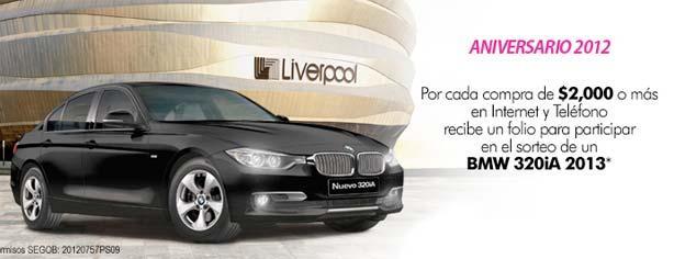Sorteo Aniversario 2012 Liverpool: Gana un BMW 320iA 2013