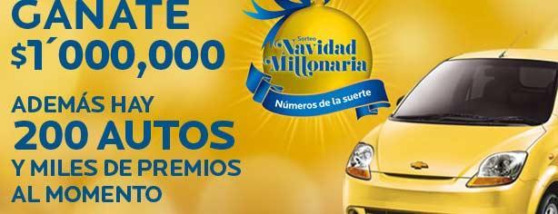 Concurso Navidad Millonaria de Coppel, gana hasta un millón de pesos y uno de los 200 autos
