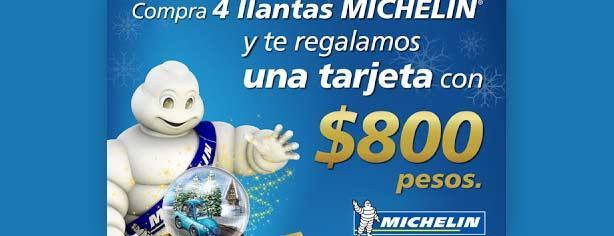 Llantas Michelin – Promociones El Buen Fin 2012