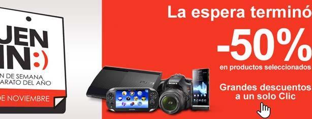 Sony Store Online (Sonystyle) – Promociones El Buen Fin 2012