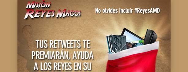 Concurso AMD Misión Reyes Magos #ReyesAMD: gana grandes premios