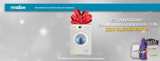 Clorox Poder Dual te regala una lavadora Mabe