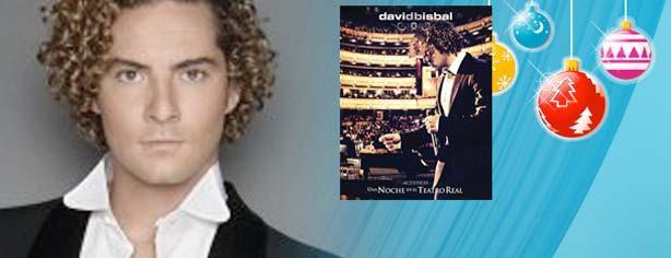 """Gana la versión importada de """"Una Noche en el Teatro Real"""" de David Bisbal"""
