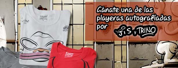 El Sótano te regala playeras autografiadas por Jis y Trino