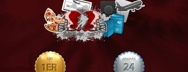 Concurso Pizza Hut y Despegar.com te llevan a la Gran Final, gana viaje al Superbowl 2013