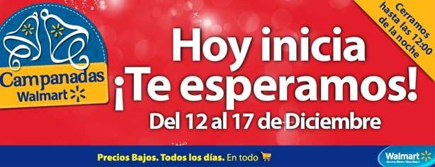 Campanadas Walmart, aprovecha las ofertas del 12 al 17 de diciembre de 2012