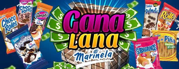 Promoción Gana Lana Marinela, gana hasta 500 mil www.ganalanamarinela.com