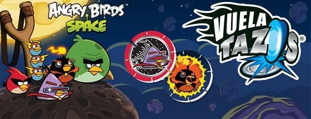 Promoción Sabritas, Gamesa y Sonrics tazos Angry Birds Space www.tazos.com