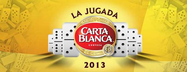 La Jugada Carta Blanca 2013, participa en el torneo de dominó www.cartablanca.com.mx