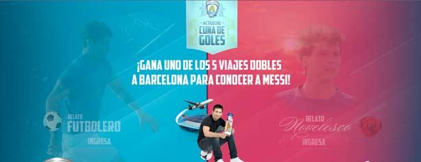 Promoción Pan Bimbo Actileche y Lionel Messi: gana viaje a Barcelona y conoce a Messi