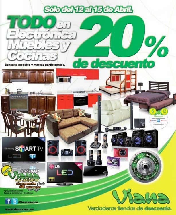 Muebles Viana : Oferta viana de descuento en electrónica muebles y