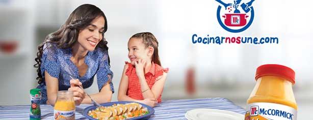 """Concurso """"Cocinar nos Une"""" Mc Cormick, gana baterías de cocina, recetarios y más"""
