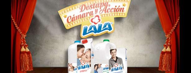 Promoción Lala Destapa, Cámara y Acción: registra tu código en www.yaganeconlala.com