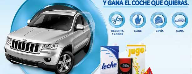 Promoción Tetra Pak gana el coche que tu quieras en www.elcochequetuquieras.com