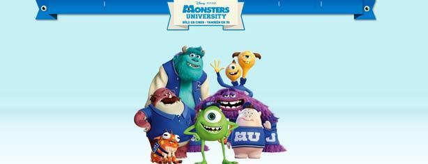Promoción Oster Mosterízate: gana productos Monsters University y viaje en familia