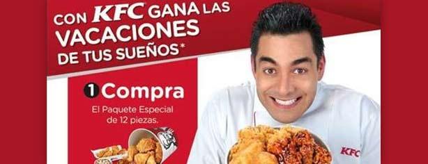 Promoción Vacaciones KFC: compra, registra y gana en www.vacacioneskfc.com