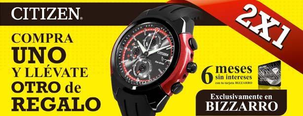 8a567205aafa Promoción Bizzarro  2×1 en relojes Citizen