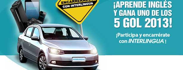 Sorteo Encarrerados con Interlingua, gana autos Gol, iPhone 5, iPads y más