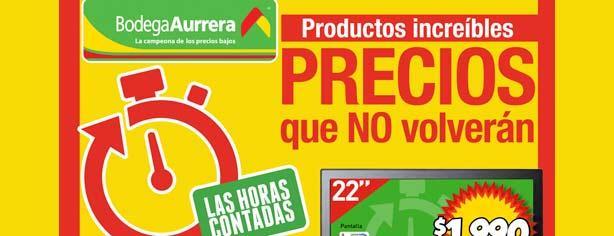 Promoción Las Horas Contadas Bodega Aurrerá 2013